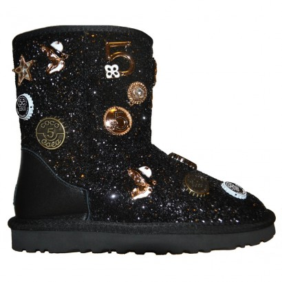 UGG Chanel sparkles - Black
