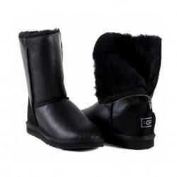 UGG Zip - Metallic Black
