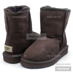 UGG Kids Classics Short - Chocolate