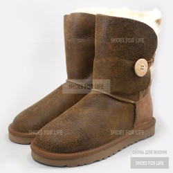 UGG Bomber Bailey Button - Chestnut