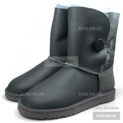 UGG Bailey Button - Metallic grey