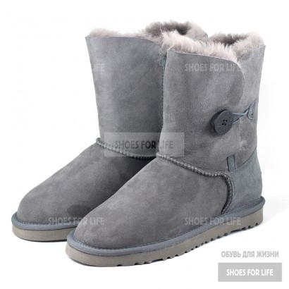 UGG Bailey Button - Grey
