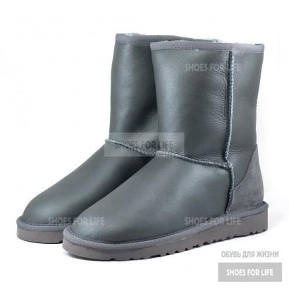 UGG Classic Short - Metallic Grey