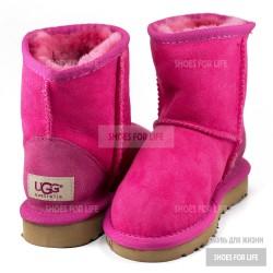UGG Kids Classics Short - Rose Pink