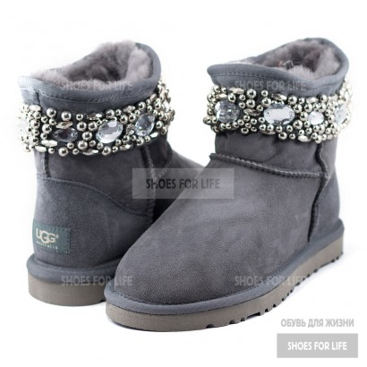 UGG Jimmy Choo Chrystal - Grey