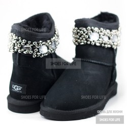 UGG Jimmy Choo Chrystal - Black