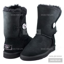 UGG Bailey Bling Button - Black