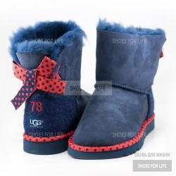 UGG Mini Bailey Bow 78 - Blue