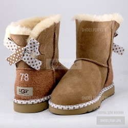 UGG Mini Bailey Bow 78 - Chestnut