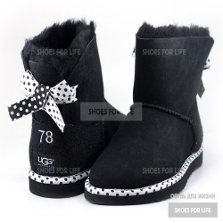 UGG Mini Bailey Bow 78 - Black