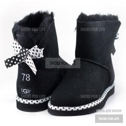 UGG Mini Bailey Bow 78 - Black
