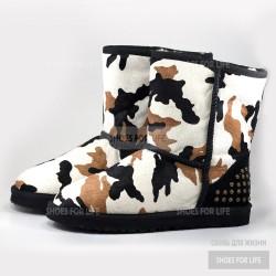 UGG Rowland - White-black