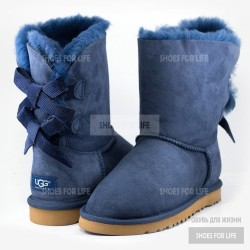UGG Bailey Bow - Navy