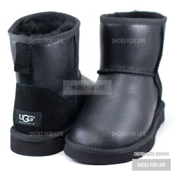 UGG Classic Mini - Metallic Black