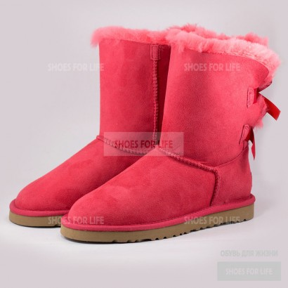 UGG Bailey Bow - Pink