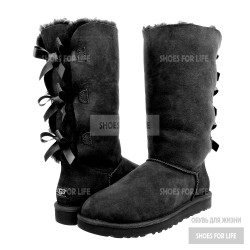 UGG Bailey Bow Triplet - Black
