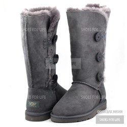 UGG Bailey Button Triplet - Grey