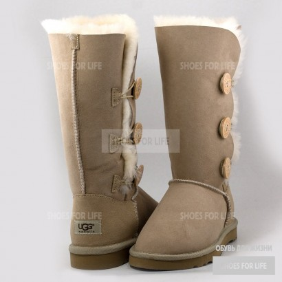 UGG Bailey Button Triplet - Sand