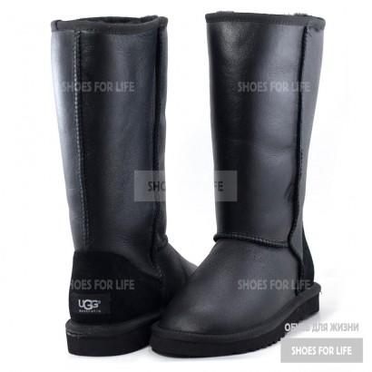 UGG Classic Tall - Metallic Black