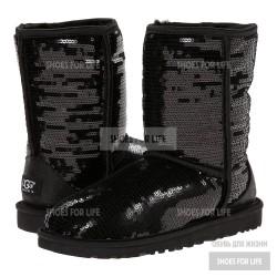 UGG Short Sparkles - Black