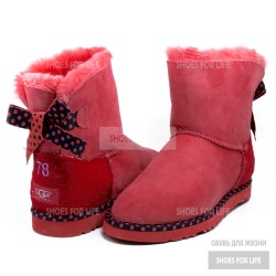 UGG Mini Bailey Bow 78 - Red