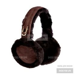 UGG Earmuff  - Chocolate