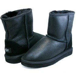 UGG Kids Classic - Metallic Black
